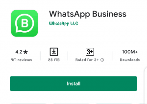 How to create a business account on Whatsapp