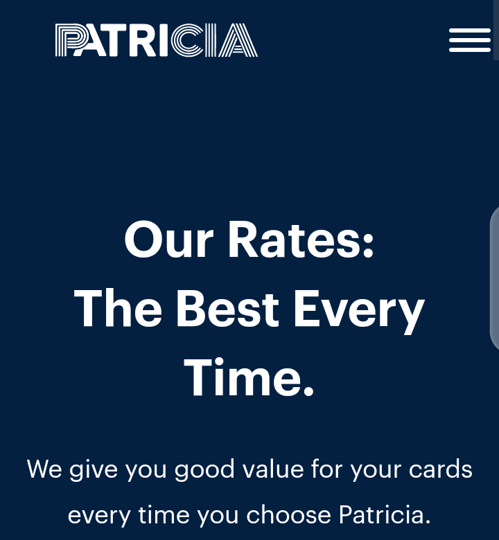 Who is the owner of Patricia