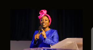 Becky Enenche dressing