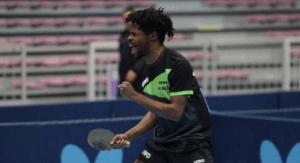 Olajide omotayo table tennis career